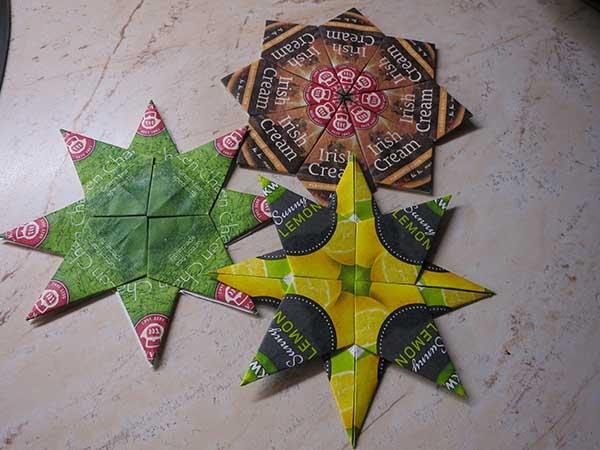 Csillag teafilterből