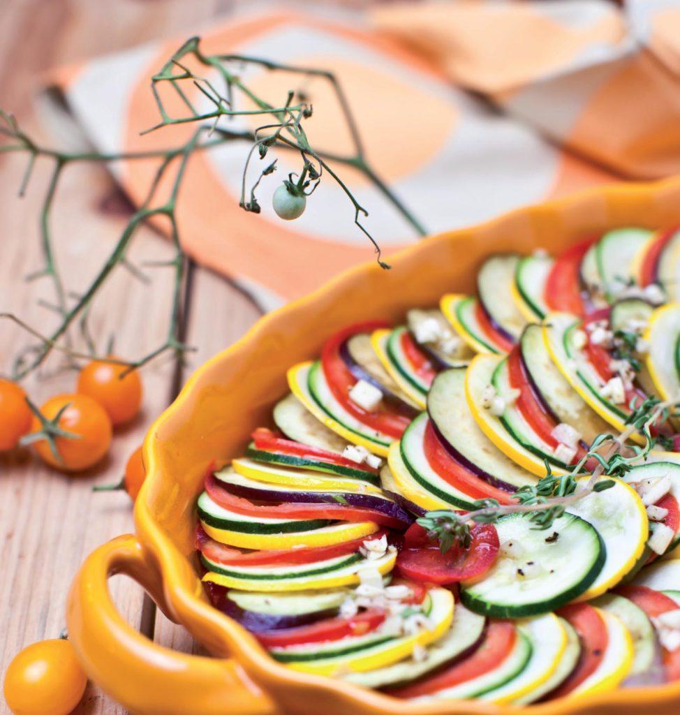 Sütőben sült zöldségek